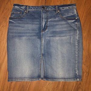 2/$20–Denim Skirt